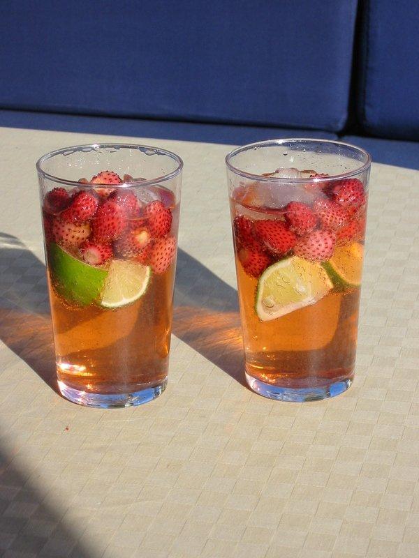 Photo: Wild Strawberry G&Ts by Eirik Newth/Flickr